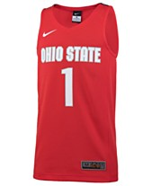 brand new 5b2a5 f4f28 Nike  1 Ohio State Buckeyes Replica Basketball Jersey, Big Boys (8-20