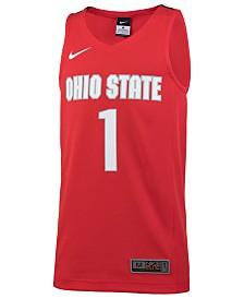 Nike #1 Ohio State Buckeyes Replica Basketball Jersey, Big Boys (8-20)