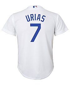 Majestic Julio Urias Los Angeles Dodgers Player Replica CB Jersey, Big Boys (8-20)