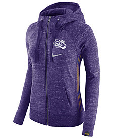 Nike Women's LSU Tigers Vintage Full-Zip Hoodie