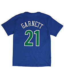 Mitchell & Ness Men's Kevin Garnett Minnesota Timberwolves Hardwood Classic Player T-Shirt