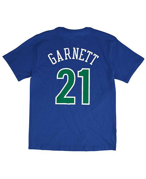 lowest price cdc68 f5e4d Men's Kevin Garnett Minnesota Timberwolves Hardwood Classic Player T-Shirt