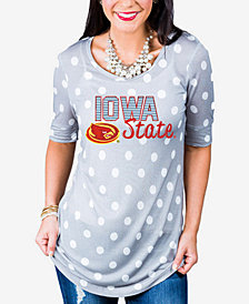 Gameday Couture Women's Iowa State Cyclones Polka Dot T-Shirt