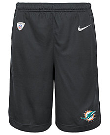 Nike Miami Dolphins Dri Fit Shorts, Big Boys (8-20)