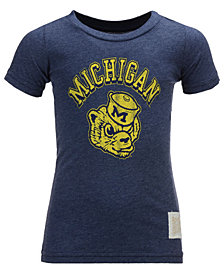 Retro Brand Michigan Wolverines Vintage T-Shirt, Big Boys (8-20)
