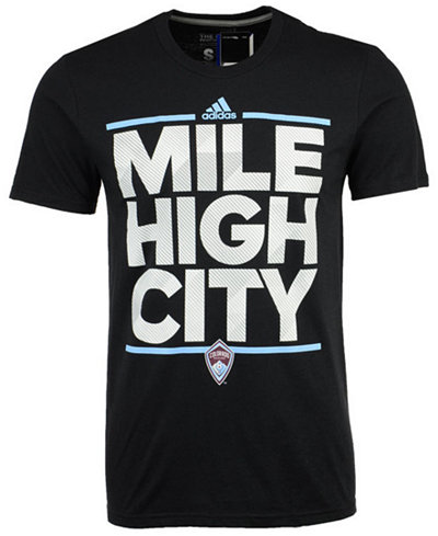 adidas Men's Colorado Rapids City Name Performance T-Shirt