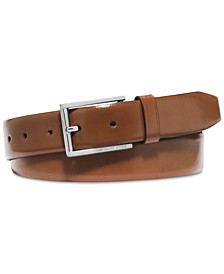 Men's Leather Dress Belt