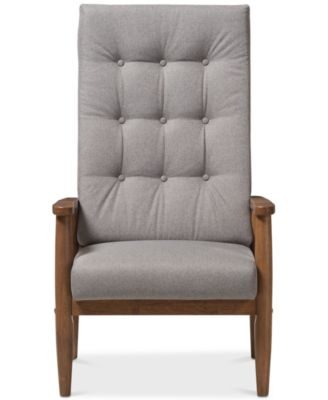 Kendon Highback Chair Quick Ship  sc 1 st  Macyu0027s & Tufted Accent Chairs and Recliners - Macyu0027s islam-shia.org