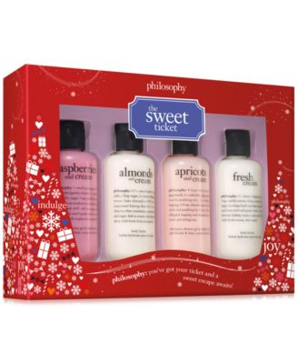 philosophy 4-Pc. The Sweet Ticket Gift Set - Gifts & Value Sets ...