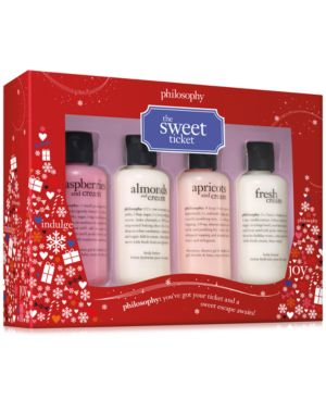philosophy 4-Pc. The Sweet Ticket Gift Set 5164897