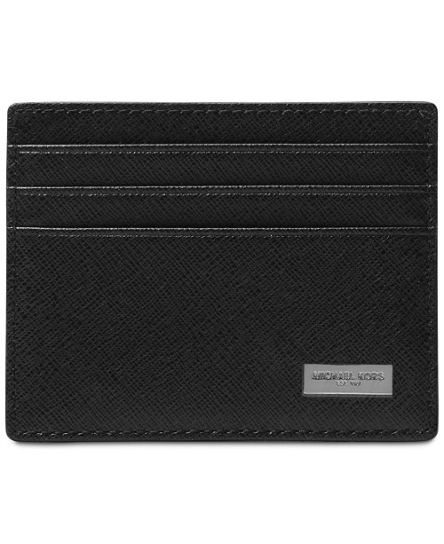 6b3630707be1 Michael Kors Men's Leather Card Case & Reviews - All Accessories ...
