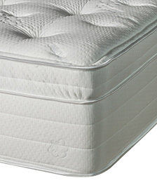 Nature's Spa by Paramount Jazmine Latex 17'' Ultra Plush Euro Pillow Top Mattress- Twin XL