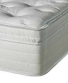 Nature's Spa by Paramount Jazmine Latex 17'' Ultra Plush Euro Pillow Top Mattress- Twin