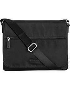 타미 힐피거 알렉산더 메신저백 Tommy Hilfiger Mens Alexander Messenger Bag,Black