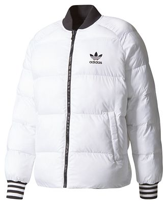 Adidas Men S Reversible Puffer Jacket Coats Jackets Men Macy S
