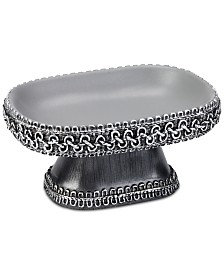 Avanti Braided Medallion Granite Soap Dish