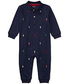 폴로 랄프로렌 남아용 우주복 Polo Ralph Lauren Ralph Lauren Baby Boys Schiffli Coverall,French Navy