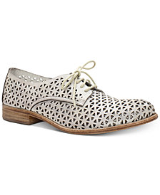 Patricia Nash Sofia Lace-Up Oxford Flats