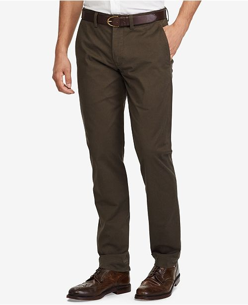72bad8d55c Polo Ralph Lauren Men's Stretch Straight Fit Bedford Chino Pants ...