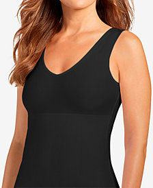 Jockey Women's  Slimmers Reversible Hidden Panel Tank 4096