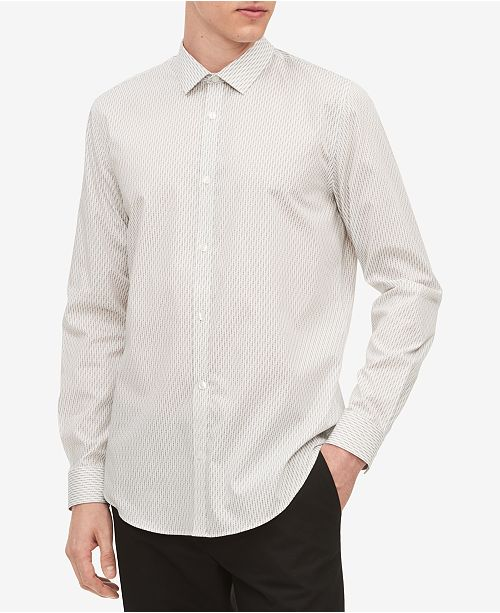 Calvin Klein Men's Infinite Slim-Fit Printed Shirt