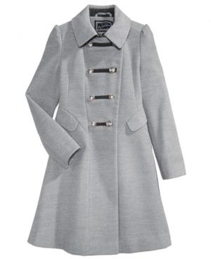 Retro Vintage Style Coats, Jackets, Fur Stoles S Rothschild  Co Double-Breasted Dress Coat Big Girls 7-16 $140.00 AT vintagedancer.com