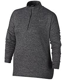 Nike Plus Size Dry Element Half-Zip Top