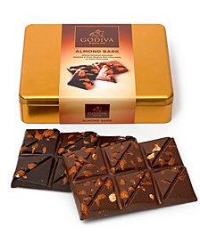 Godiva 12-Pc. Almond Bark Gift Tin