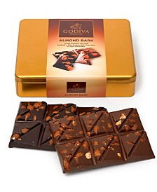 Godiva 12-Pc. Almond Bark Gift Tin
