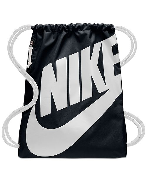 b6bf47637046b Nike Heritage Gym Sack   Reviews - Women s Brands - Women - Macy s