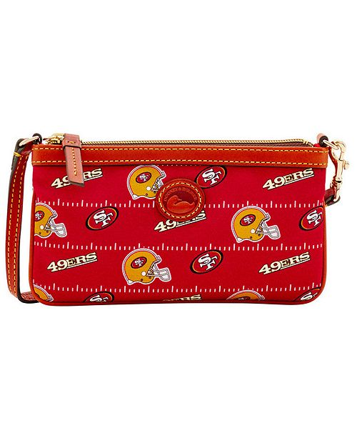 Dooney & Bourke San Francisco 49ers Nylon Wristlet