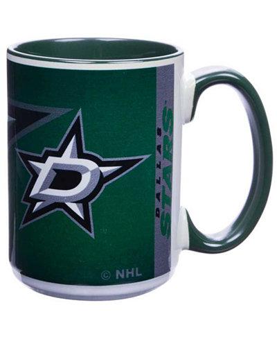 Dallas Stars 15oz Super Fan Inner Color Mug