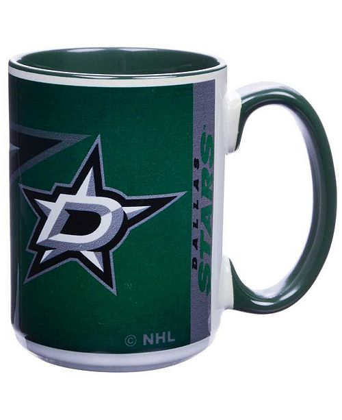 Memory Company Dallas Stars 15oz Super Fan Inner Color Mug