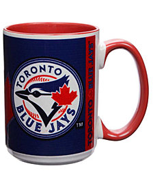 Toronto Blue Jays 15oz Super Fan Inner Color Mug