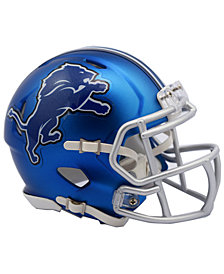 Riddell Detroit Lions Speed Blaze Alternate Mini Helmet
