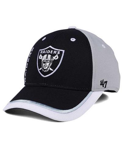 '47 Brand Oakland Raiders Crash Line Contender Flex Cap