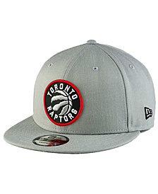New Era Toronto Raptors Gray Pop 9FIFTY Snapback Cap