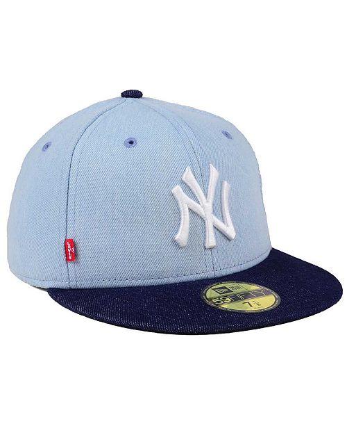New Era New York Yankees X Levi 59FIFTY Fitted Cap - Sports Fan Shop ... 8db8d51fc6a9