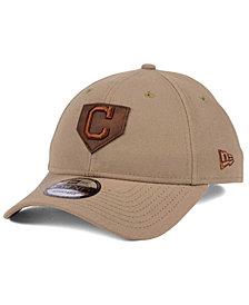 New Era Cleveland Indians The Plate 9TWENTY Cap