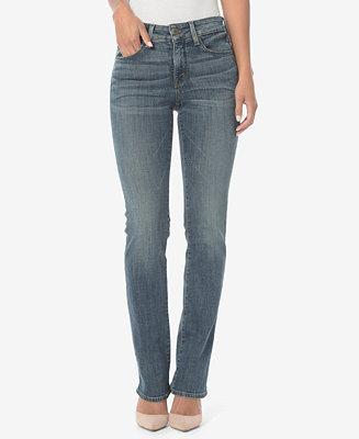 NYDJ Marilyn Tummy-Control Straight-Leg Jeans - Jeans ...