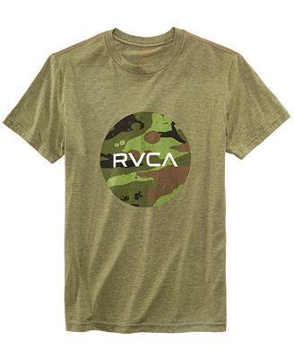 RVCA Men's Camo Graphic T-Shirt