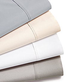 LAST ACT! AQ Textiles NuPercale 400 Thread Count 4-Pc. Sheet Sets
