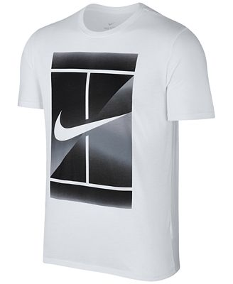 Nike Men's NikeCourt Dry Graphic T-Shirt