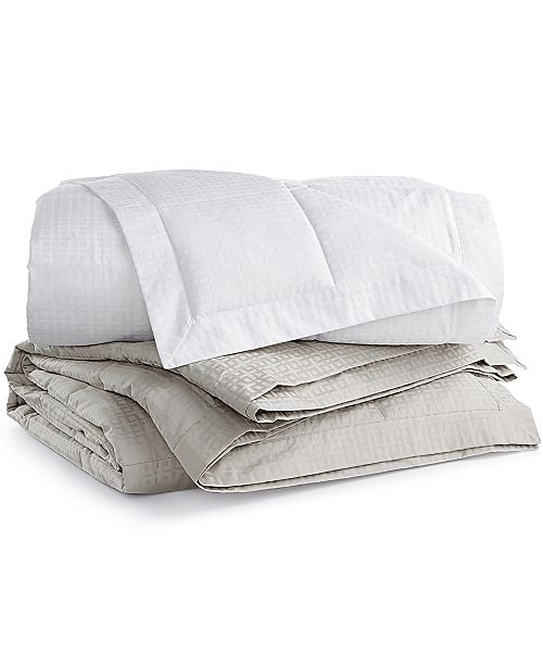Hotel Collection 500-Thread Count Queen European Goose Down Blankets, Created for Macy's