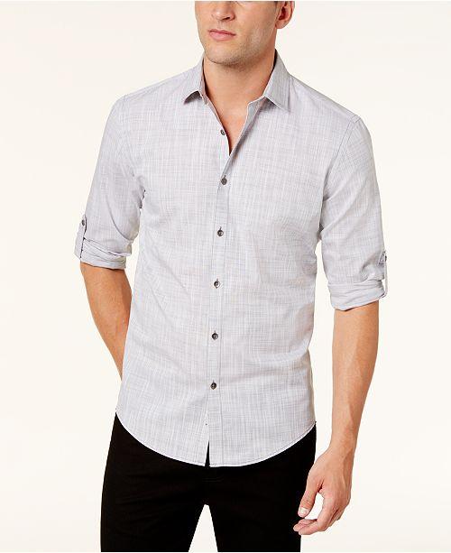 50026e35ffc Alfani Men s Warren No Pocket Long Sleeve Shirt