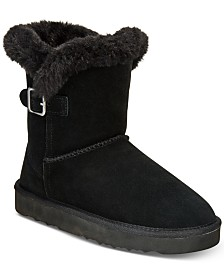 Style & Co Tiny 2 Winter Booties, Created for Macy's