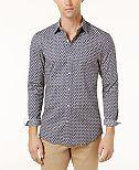 Michael Kors Men's Printed Shirt