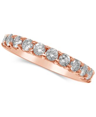 Diamond Gold Band (1 Ct. T.w.) In 14k Gold, Rose Gold Or