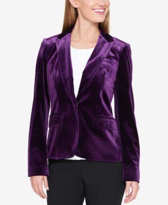 Womens velvet blazer next