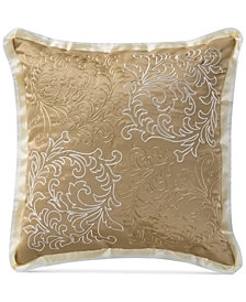 "Waterford Ansonia 16"" Square Decorative Pillow"